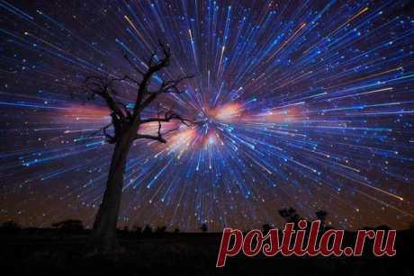 Потрясающие фото звездопада | web-assorti.ru