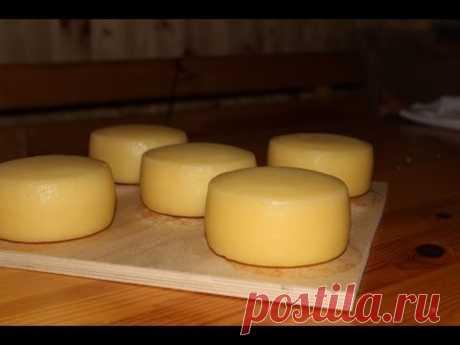 Как мы варим Сыр Качотта (деревенская еда)