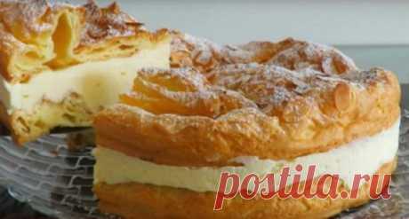 Польский торт «Карпатка». Оригинально и очень вкусно