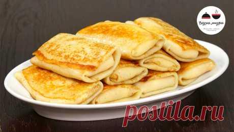 Стоит ли добавлять в тесто для блинчиков кипяток | Кухня наизнанку | Яндекс Дзен