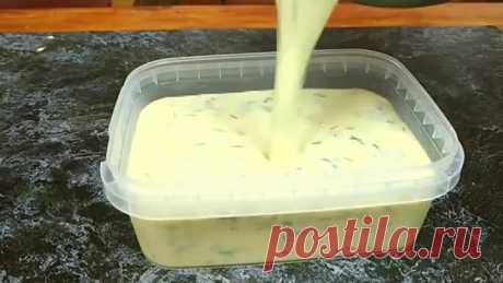 Хватит покупать в магазине! Сделайте сами плавленый сыр - всего 10 минут