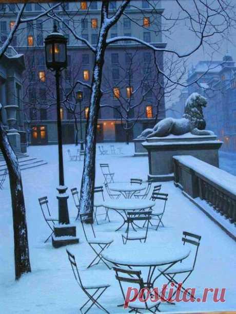 Лев зимой - АлексейБутырский