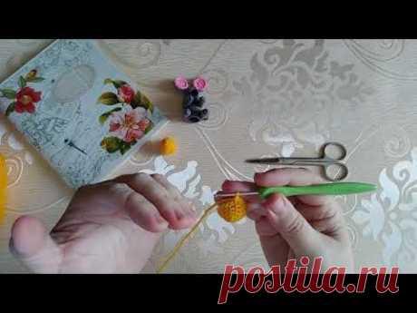 МК вязаное яичко/Пальчиковый театр/Вязаные Лялюшки - YouTube