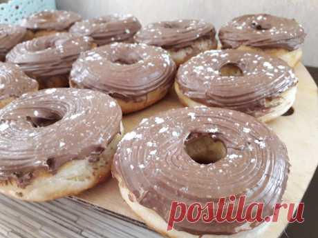 Донатс - американские пончики (жареные)