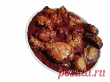 Курица в Ежевичном Соусе ✧ грузинская кухня   Грузинская Кухня от Софии   Яндекс Дзен