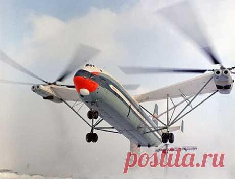 Самый большой вертолет в мире: как советский «Гомер» ошарашил США - Телеканал «Звезда»