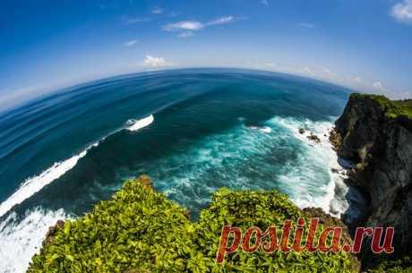 «Край Земли». Остров Бали, Индонезия.