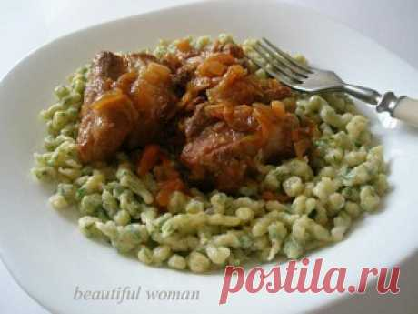 Шпецле - кулинарный рецепт