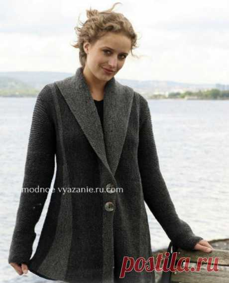 Кардиганы поворотными рядами - swing-knitting - Klubok - Modnoe Vyazanie.ru.com