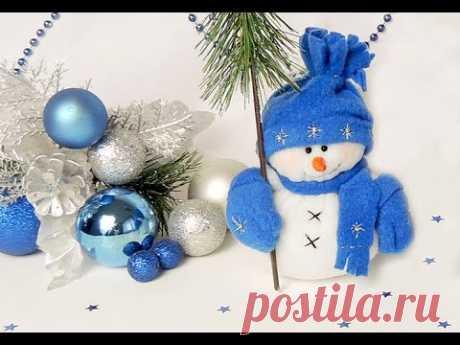 "Новогодняя поделка (сувенир) ""снеговик"" Часть 1 | Tavifa"