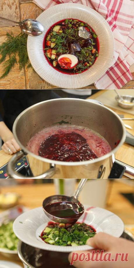 Как приготовить ботвинью