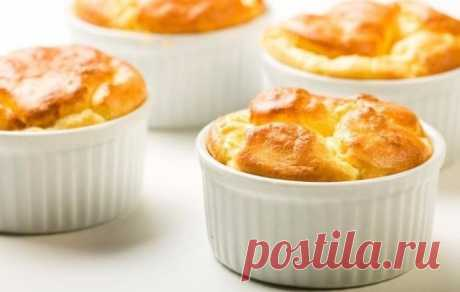 Fast souffle from cottage cheese: it is possible for breakfast, and it is possible also for the night!