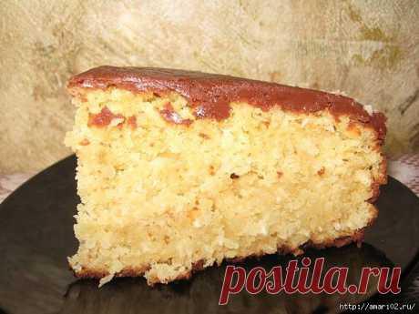 Пирог необыкновенно вкусный.