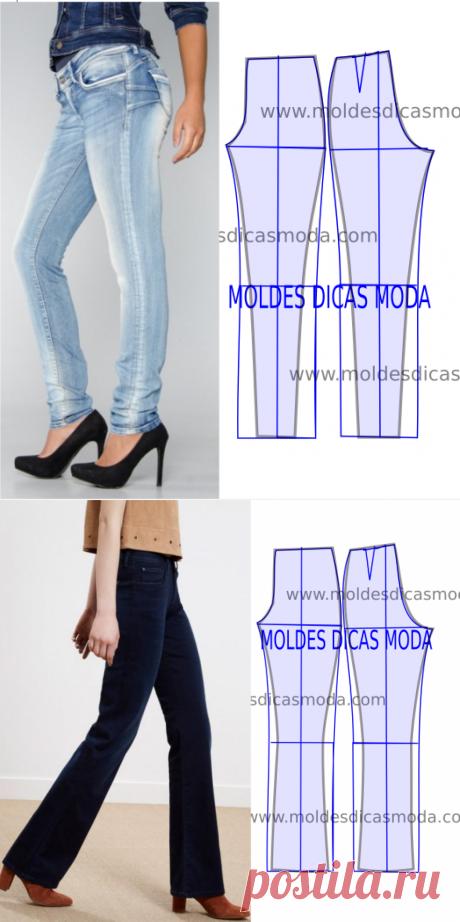 Детали и брюки дизайн - Пресс-форма Мода Меры