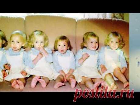 ВСЕ ИНТЕРЕСНО: Единственные в мире девочки - шестерняшки.