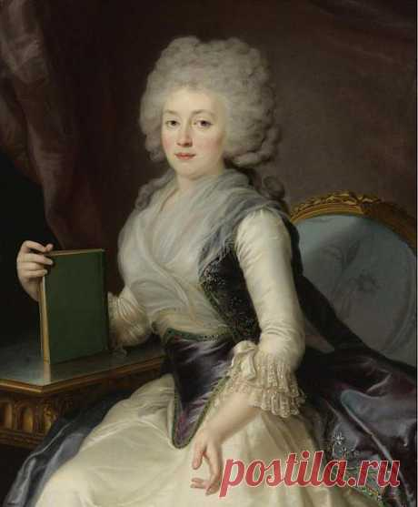 Ольга Александровна Жеребцова (1766 — 1849).