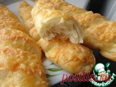 Сырный багет - кулинарный рецепт