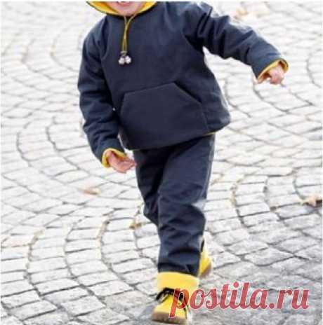 Костюм детский #Готовые_выкройки на возраст 1-3 года. #шьем_для_детей