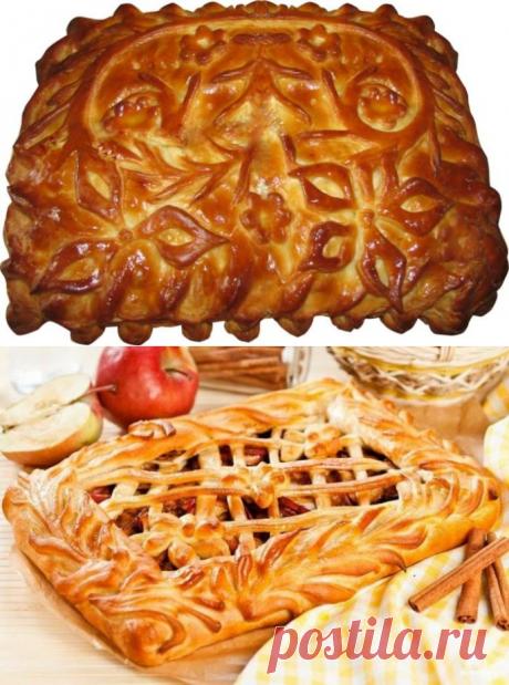 Дрожжевой пирог с яблоками - 7 рецептов закрыты и открытый, постный или на кефире