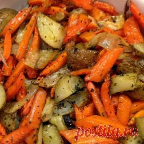 Жареная картошка «Хозяйка отдыхает»