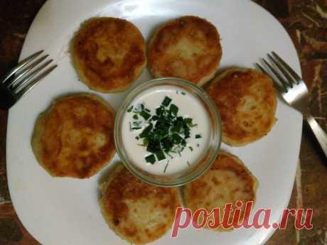Ароматные картофельные биточки — Кулинарная книга