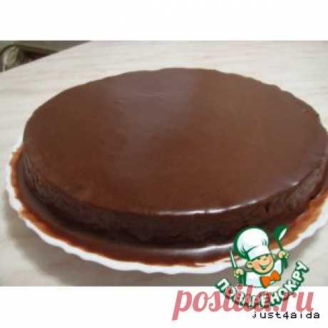 Глазурь шоколадная блестящая -  = Ингредиенты  Сахарная пудра— 100 г Какао-порошок— 2-3 ст. л. Молоко— 5 ст. л. Масло сливочное(размягченноена огне или в микроволновке) — 1,5 ст. л. Ванилин(я делала без него)