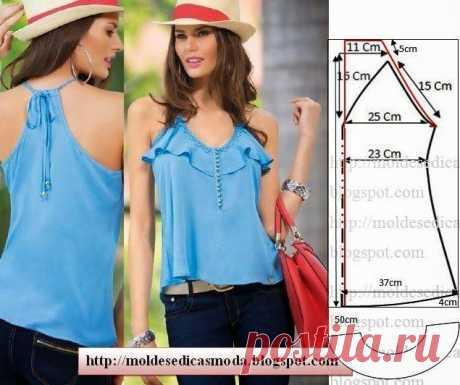 Шьем красивые блузки: 16 выкроек на любой вкус