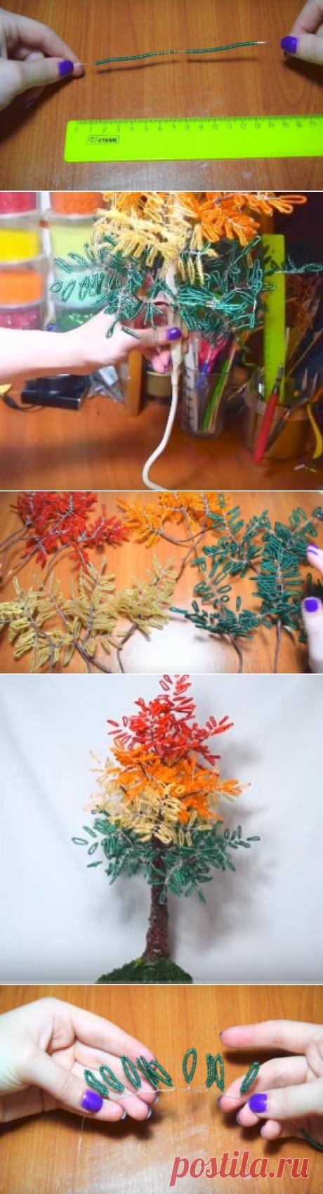 Создаем осеннее дерево своими руками: пошаговый урок | Domigolki.ru