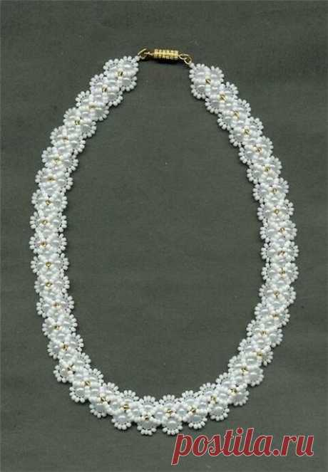 necklace from beads