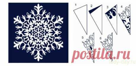 Снежинки из бумаги: шаблоны для вырезания | Праздники