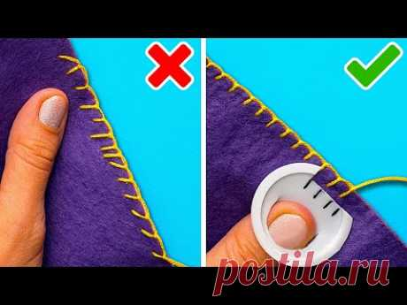33 SEWING TIPS YOU NEED IN YOUR LIFE