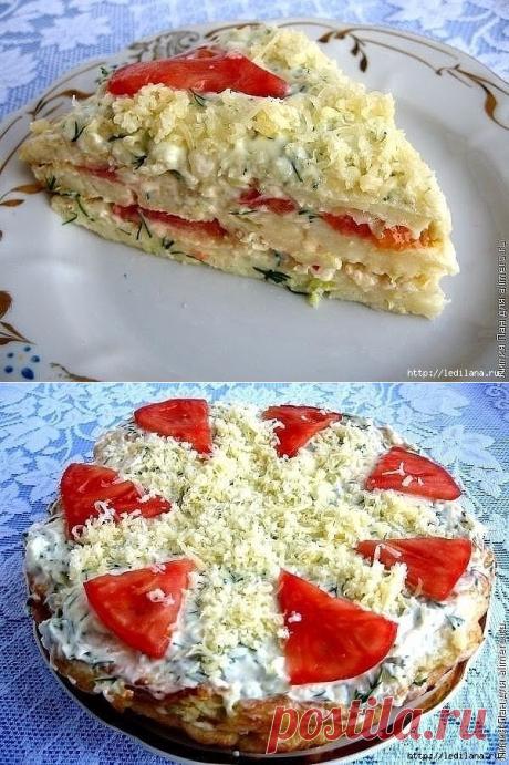 Кабачковый торт Очаровашка