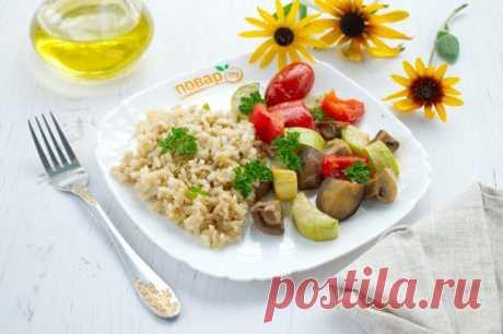 Рис с запеченными овощами - пошаговый рецепт с фото на Повар.ру