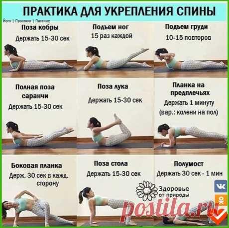Уделите своей спине всего несколько минут в день!