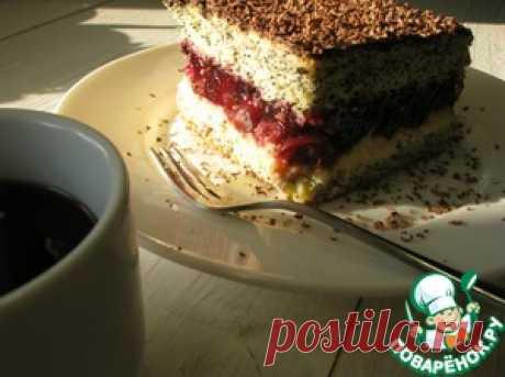 """Торт """"Вишневая фантазия"""" - кулинарный рецепт"""