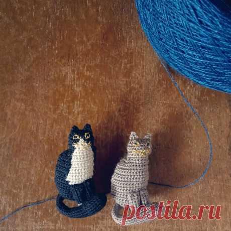 Tralalala. в Instagram: «ちょこんと座るネコ(ФωФ) #Tralalala_crochet» 162 отметок «Нравится», 16 комментариев — Tralalala. (@tralala_lab) в Instagram: «ちょこんと座るネコ(ФωФ) #Tralalala_crochet»