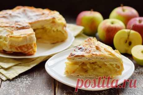 Яблочный пирог из лаваша – простой и быстрый (на мой вкус, намного вкуснее шарлотки) - Женский журнал