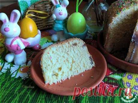 Кулич из хлебопечки Кулинарный рецепт