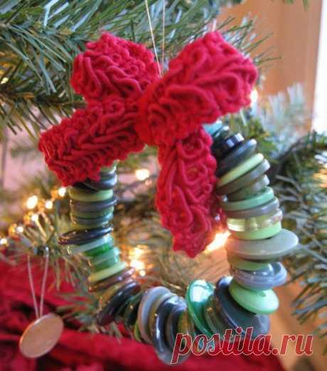 Креативные елочные игрушки для украшения Новогодней елки