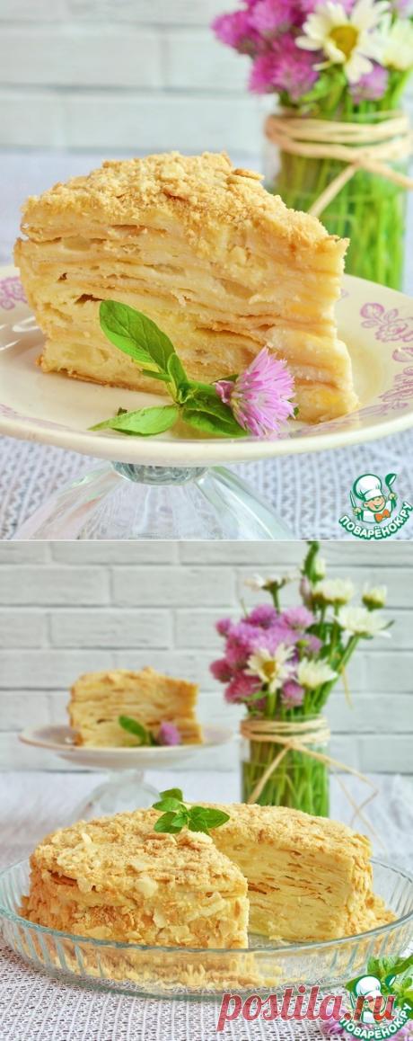"""Торт """"Наполеон на Карибах"""" – кулинарный рецепт"""