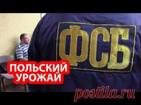 ФСБ ликвидировала сеть польской агентуры в России - YouTube