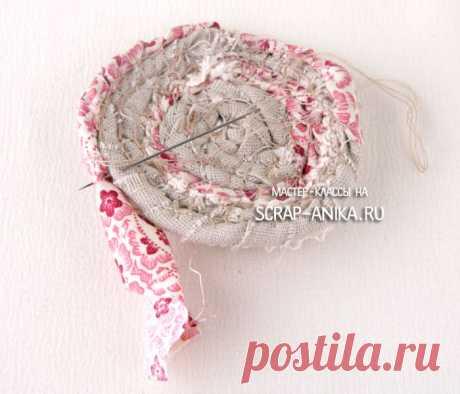 Брошь из ткани в стиле бохо мастер класс — Pumps.ru
