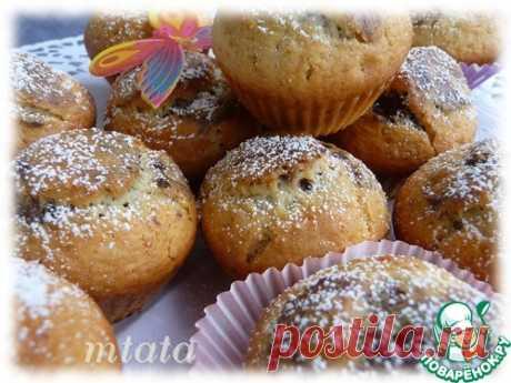 Мраморные маффины - кулинарный рецепт