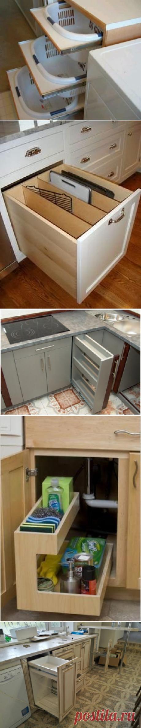 Как заменить дорогие кухонные системы хранения   Мебель своими руками   Яндекс Дзен