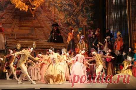 """Ко дню рождения Джузеппе Верди. Опера """"Бал-маскарад"""""""
