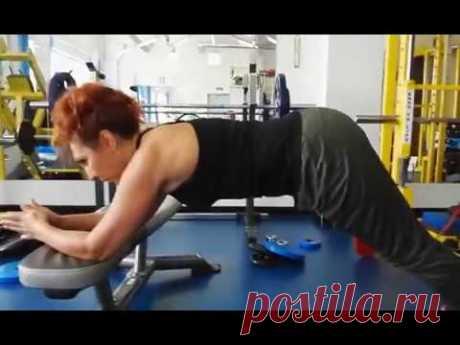 Упражнения для похудения после 50 лет - Комплекс упражнений для женщин после 45 лет - YouTube