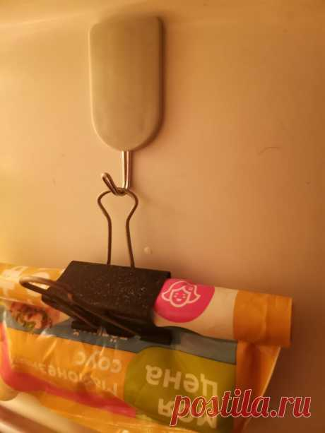 Купила в Фикс Прайсе крючки для кухни за 55 рублей, а применила в холодильнике, благодаря совету соседки | То100надо | Яндекс Дзен