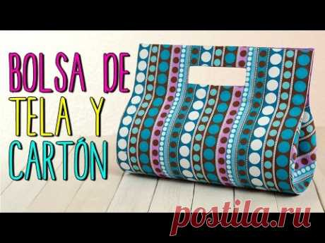 Bolsa de Tela - Paso a Paso Sin coser - Bolso de Fiesta de Cartón  - Catwalk Cartonaje