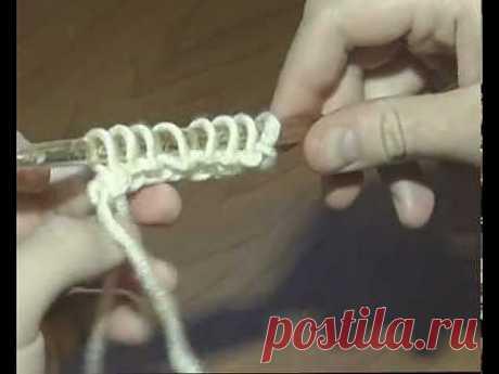 Тунисское вязание.Видео-мастер-класс. | razpetelka.ru