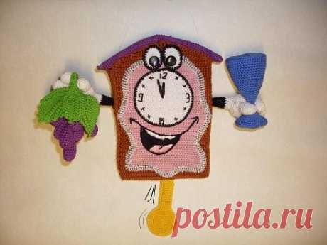 Настенные часы (крючком) — Вязаные игрушки. Амигуруми всех стран, соединяйтесь